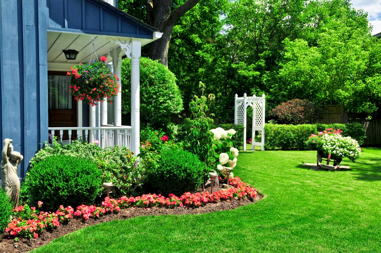 Home gardenideas for beauty