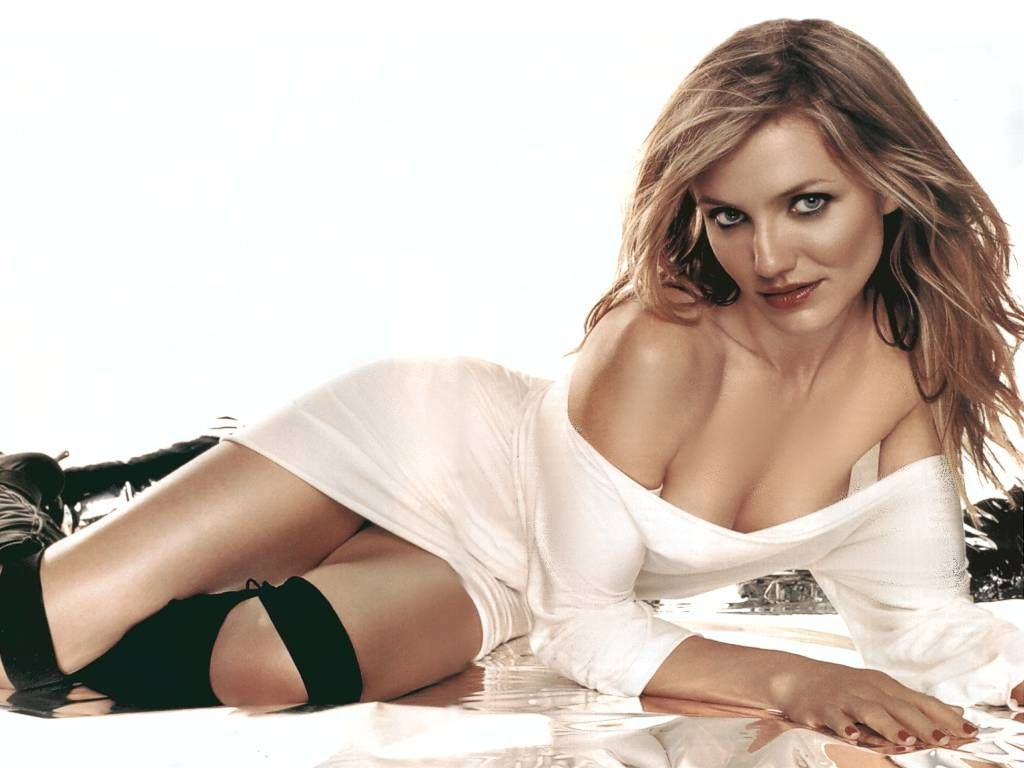 New Cameron Diaz Hot model HD photo wallpapers 2012