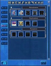 Digimon Masters Deck system