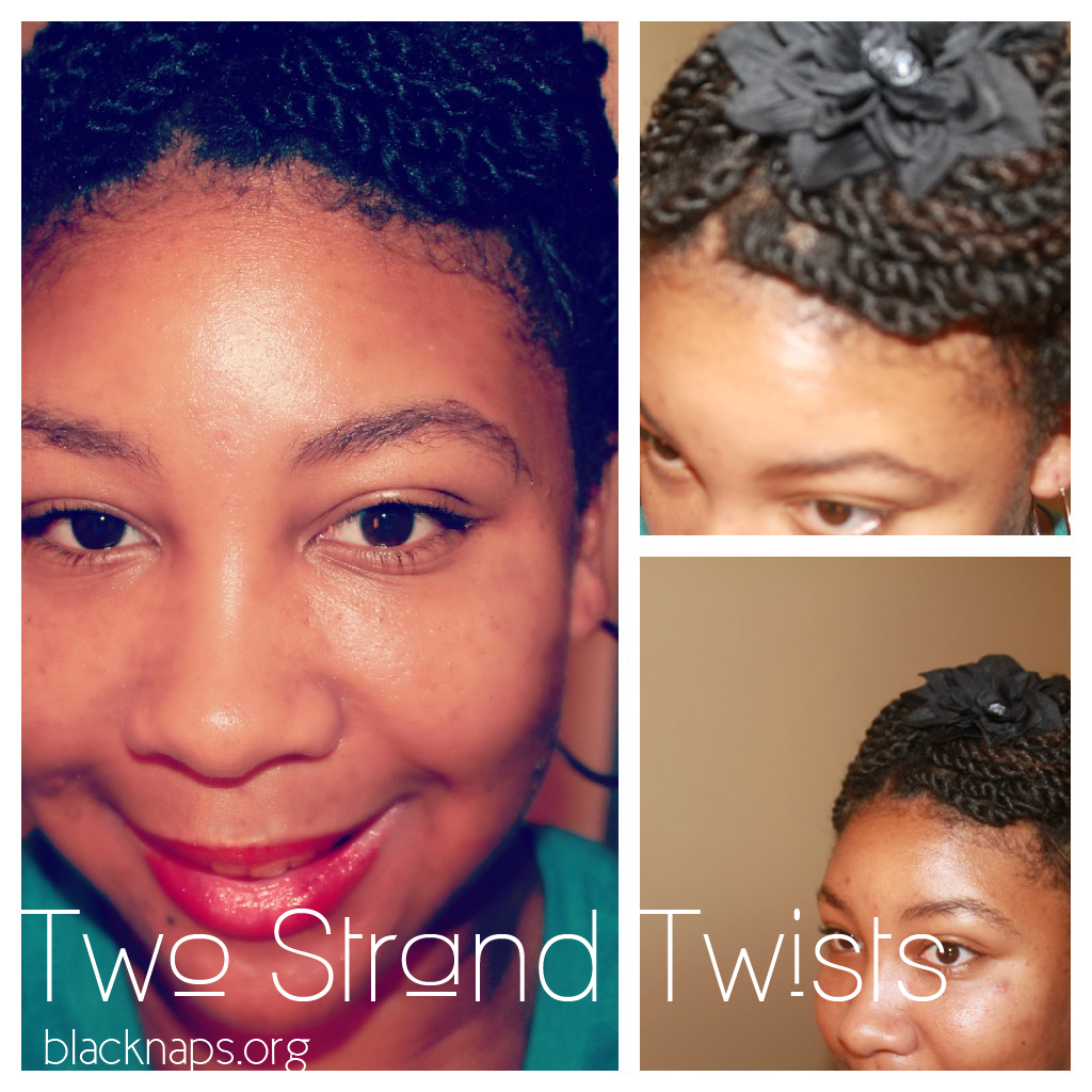 protective hairstyles on short natural hair