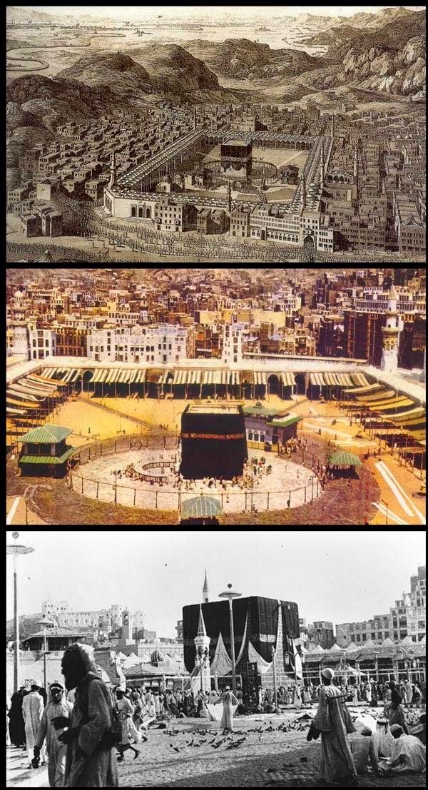 Masjidil Haram Dari 1840 Hingga Sekarang | liataja.com