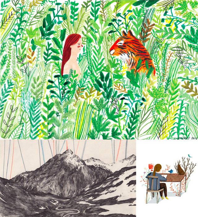 illustrations by lizzy stewart