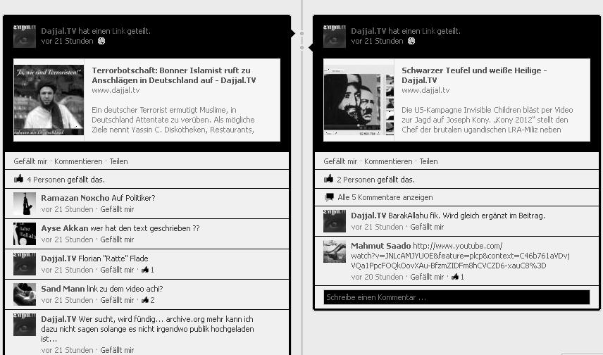 Pierre Vogel und seine Welt: Die Facebook Voglianerliste