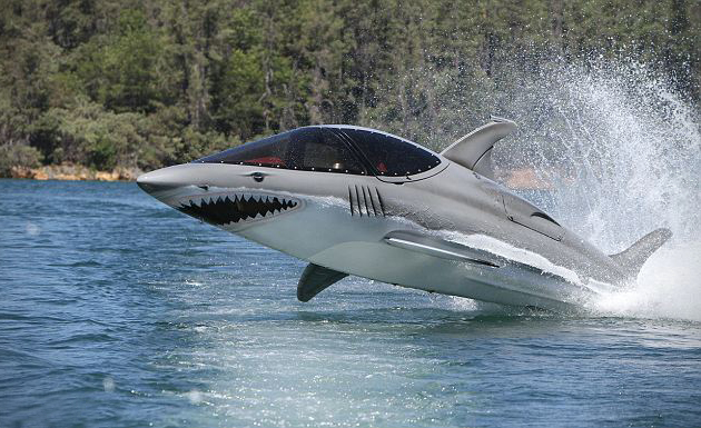 Amazing Things In The World Shark Submarine