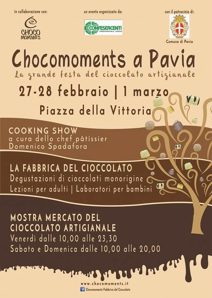 Chocomoments dal 27 Febbraio al 1 Marzo Pavia