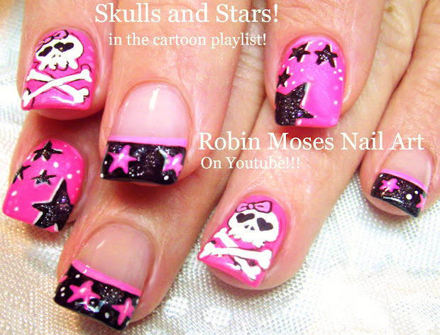 robin moses nail art lots of little