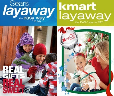 Sears layaway has easy terms for both in-store and online purchases. Combine it with a free Shop Your Way membership and you can get can a cash back bonus, paid in points when you complete your layaway.