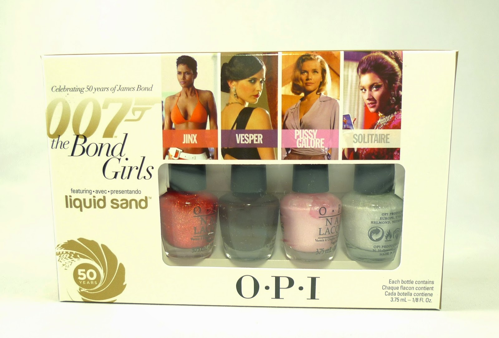O.P.I. The Bond Girls Nail Polish Collection: Celebrating 50 years ...