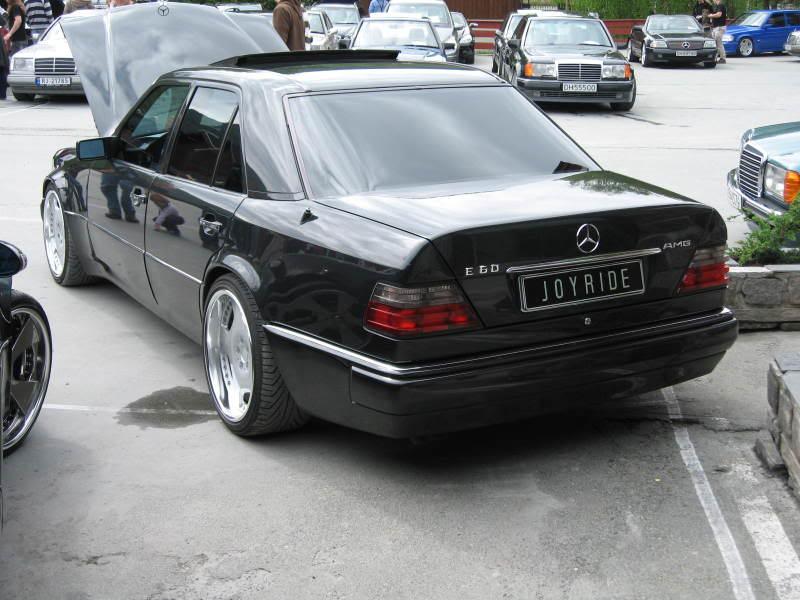 wolf cars mercedes benz e60 amg w124 39 1994 1995