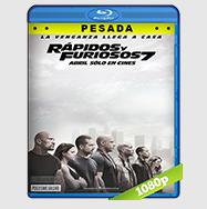 Rapidos y Furiosos 7 (2015) HD BrRip 1080p (PESADA) Audio LAT