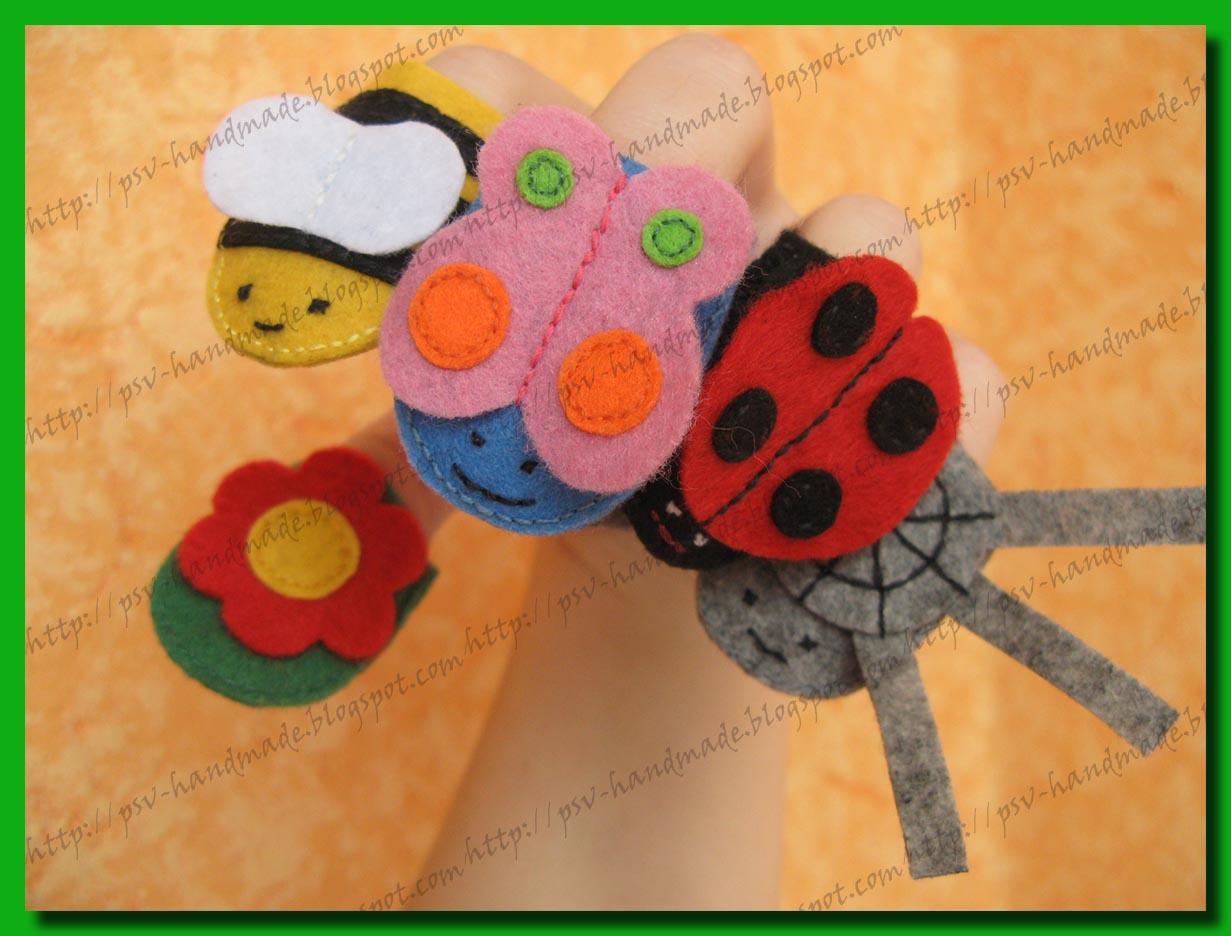 Развивающие игрушки - насекомые