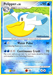 Pelipper Pokemon Card Arceus Set