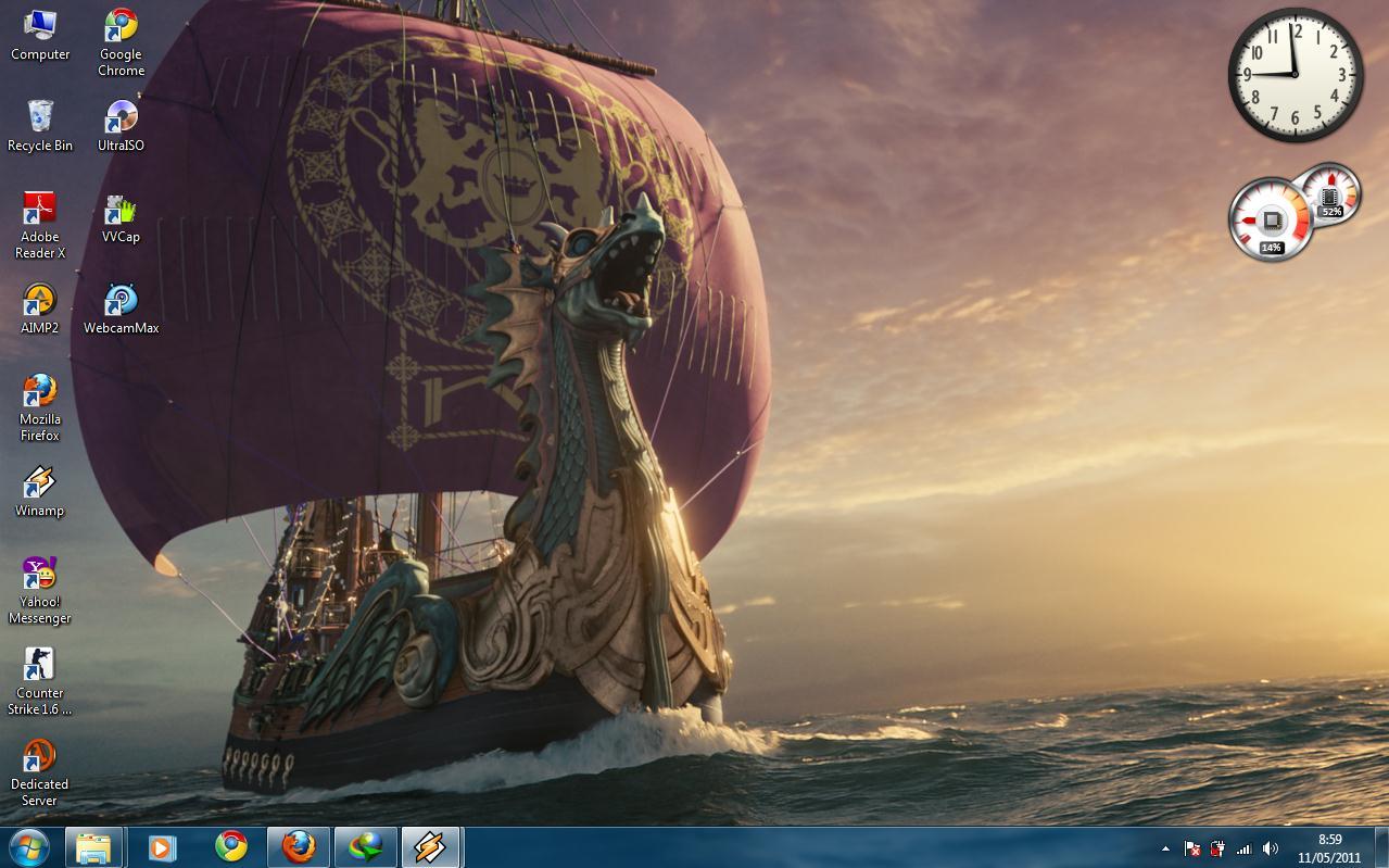 Download Gratis Theme Windows 7 - narnia