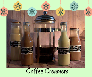 Homemade Coffee Creamers- perfect with to sweetened your coffee or give as a gift.