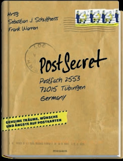Cover des PostSecret auf Deutsch Buchs