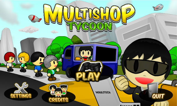 Multishop Tycoon Gameplay