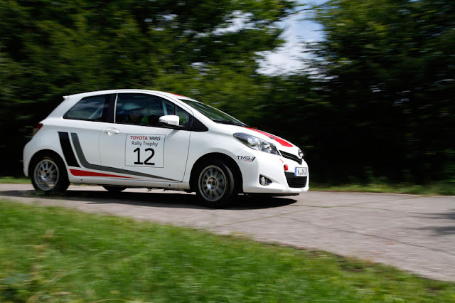 Yaris R1A rally car