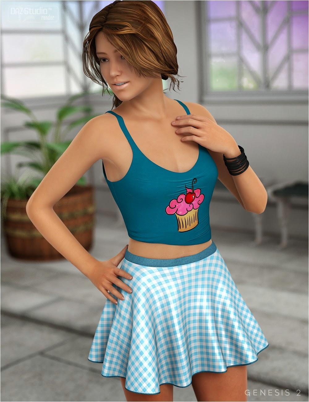 3d Models - Playful for Flirty Summer