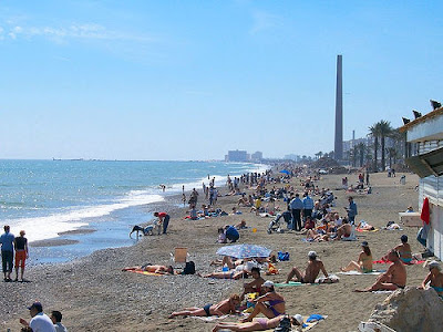 Málaga playa turismo
