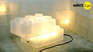 Lego lamp -  Ole Kirk Christiansen