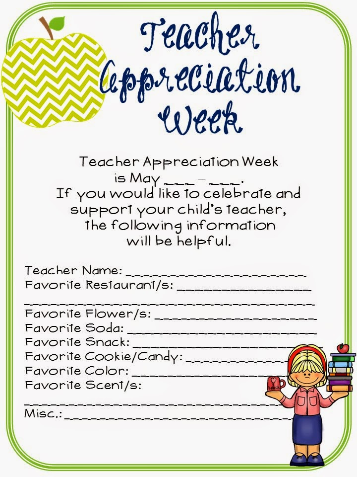 Teacher Appreciation Week Letter: Similiar Teacher Appreciation Letter To Parents Keywords,
