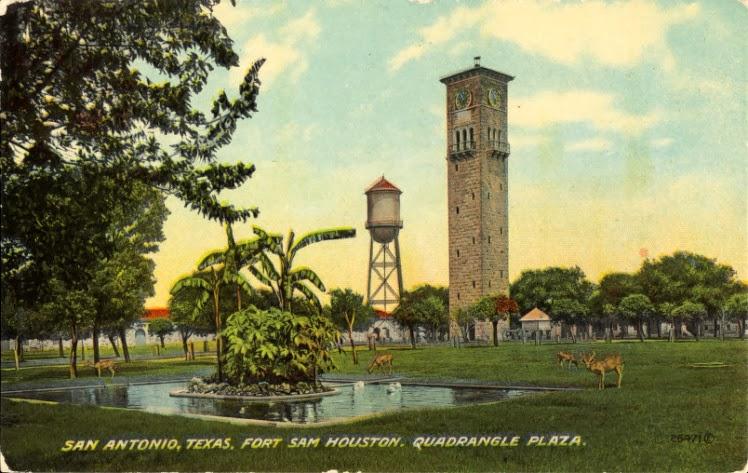 Texas Revelations Historic Fort Sam Houston : QuadranglePlazaFortSamHouston from confessionsofacrazyfox.blogspot.com size 748 x 473 jpeg 100kB