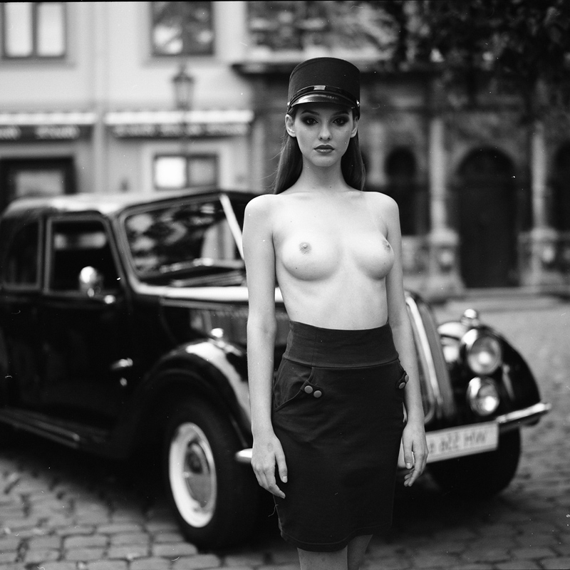 D.W.C. Nude and Cars - Photographer Ruslan Lobanov