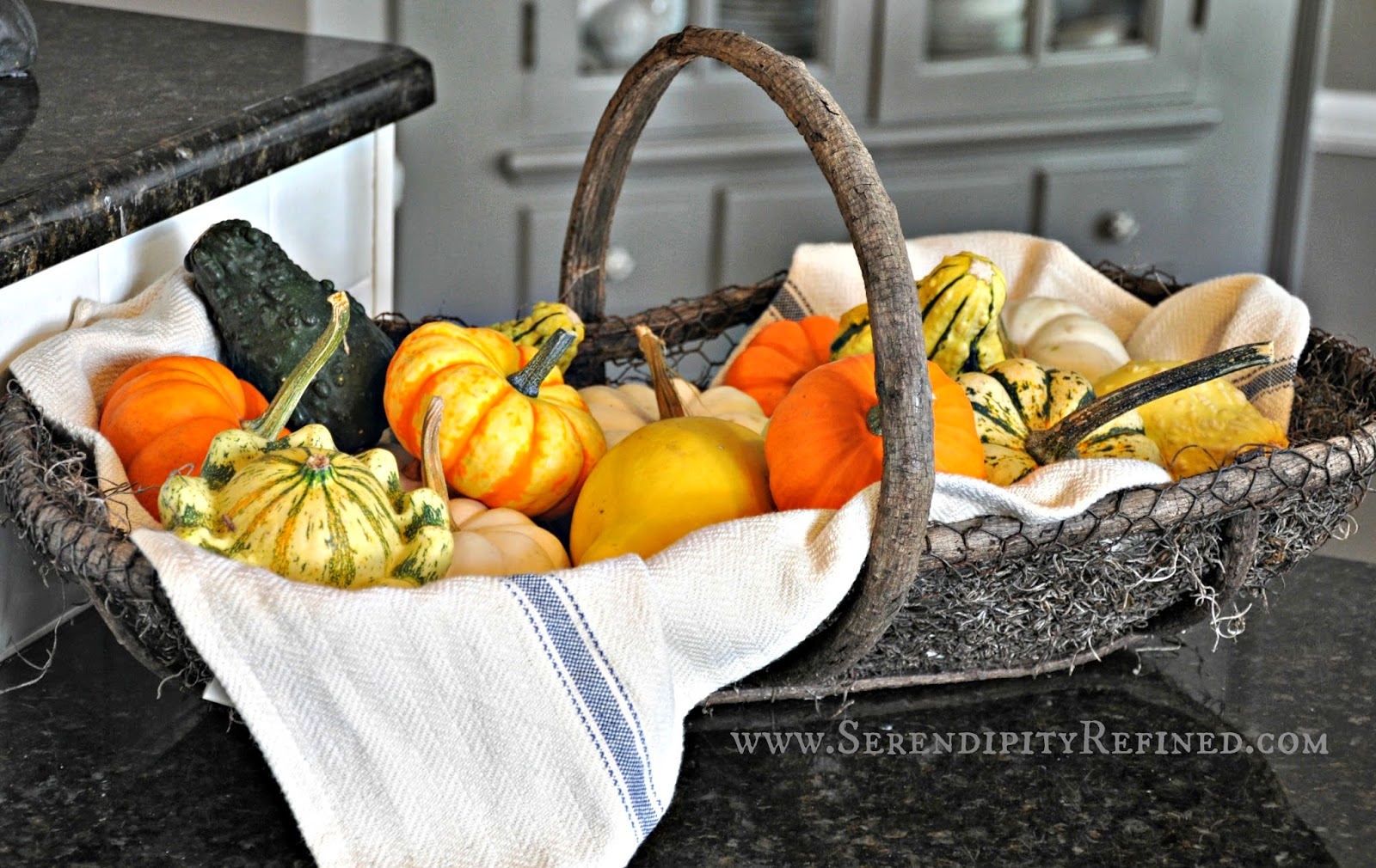 Fall Kitchen Decorating Serendipity Refined Blog Inside The French Farmhouse Fall