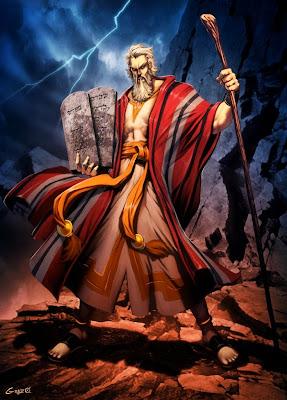 Ilustração Moisés