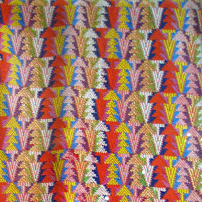 couple Native American textile patterns that caught my eye at the