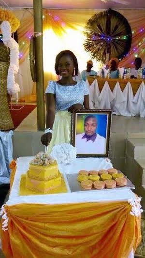 Wow, See Photos From An Absentee Wedding Found On Facebook