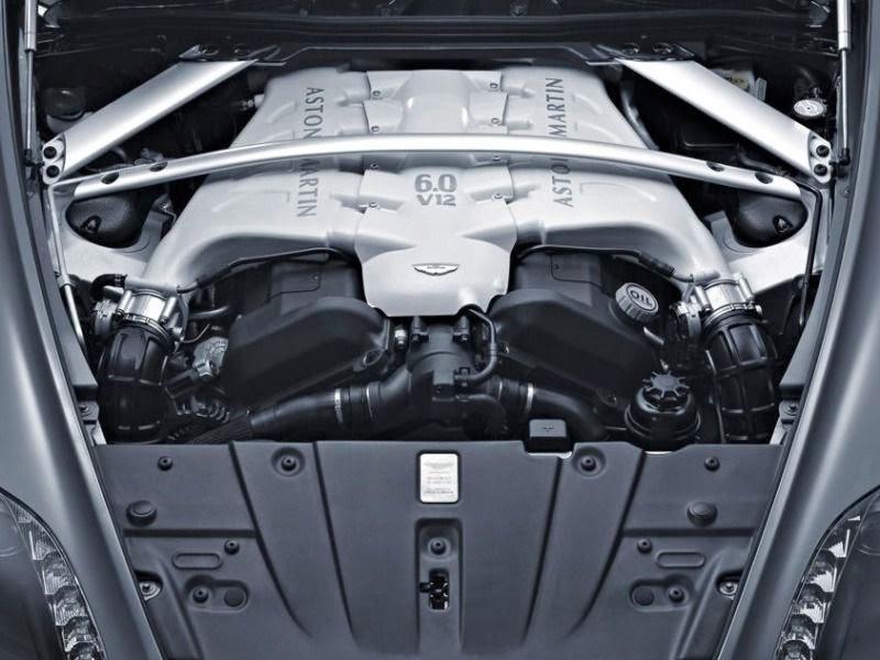 Aston Martin V12 Vantage Engine