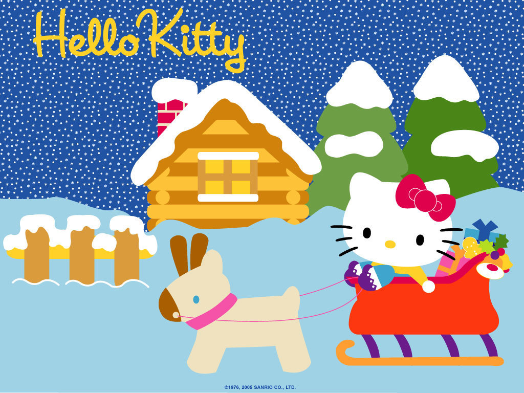 Hello kitty wallpaper christmas hello kitty - Hello kitty hello ...