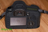 Delkin Snug-it for Canon 5D mark III, back view