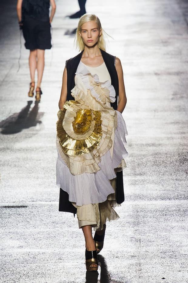 Fashion runway dries van noten spring 2014 cool chic for Dries van noten wedding dress