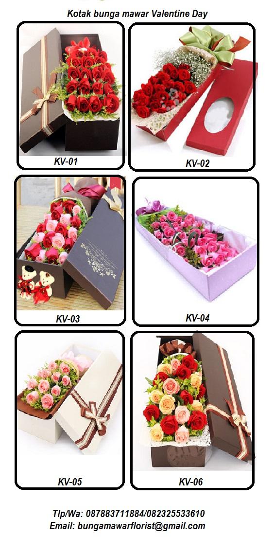 Box Bunga mawar