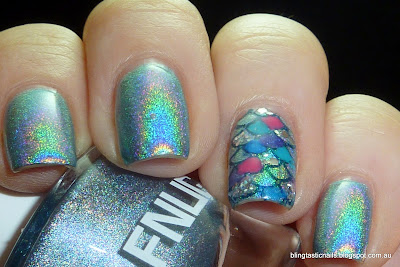 Rainbow Fish Manicure