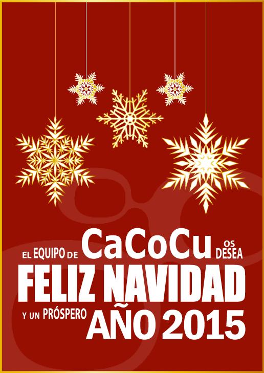 Felicitación navideña de parte del equipo de CaCoCu