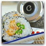 Homemade Shrimp Tempura Roll