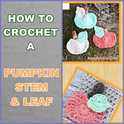 How To Crochet A Pumpkin