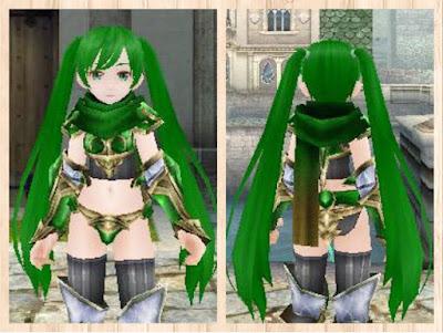 マフラー緑1