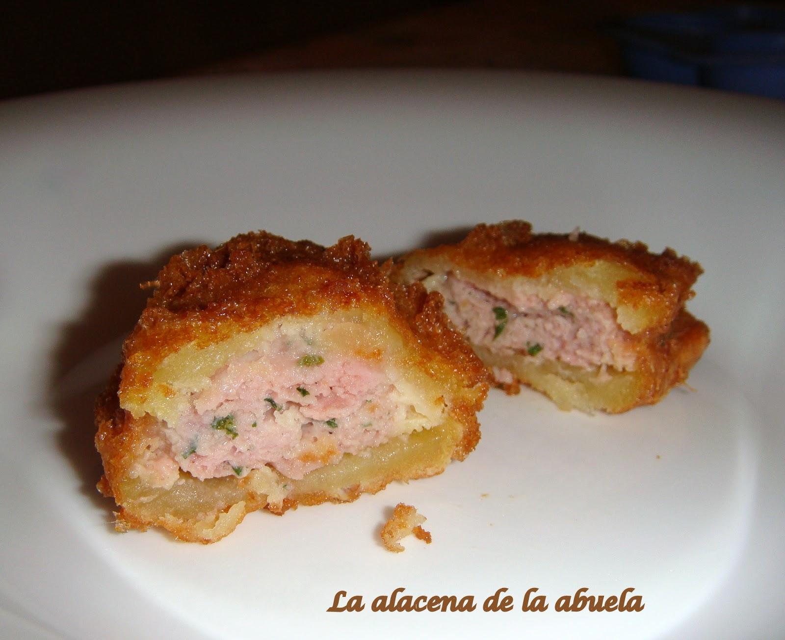 La alacena de la abuela carmen patatas rellenas de bujalance for Cocina casera de la abuela