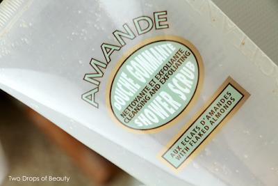 Loccitane almond гель-скраб для тела