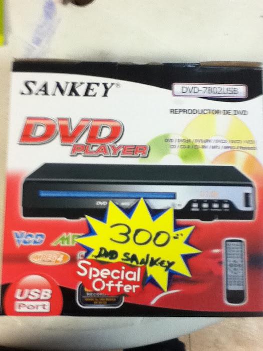 DVD SANKEY, USB. 300BSF