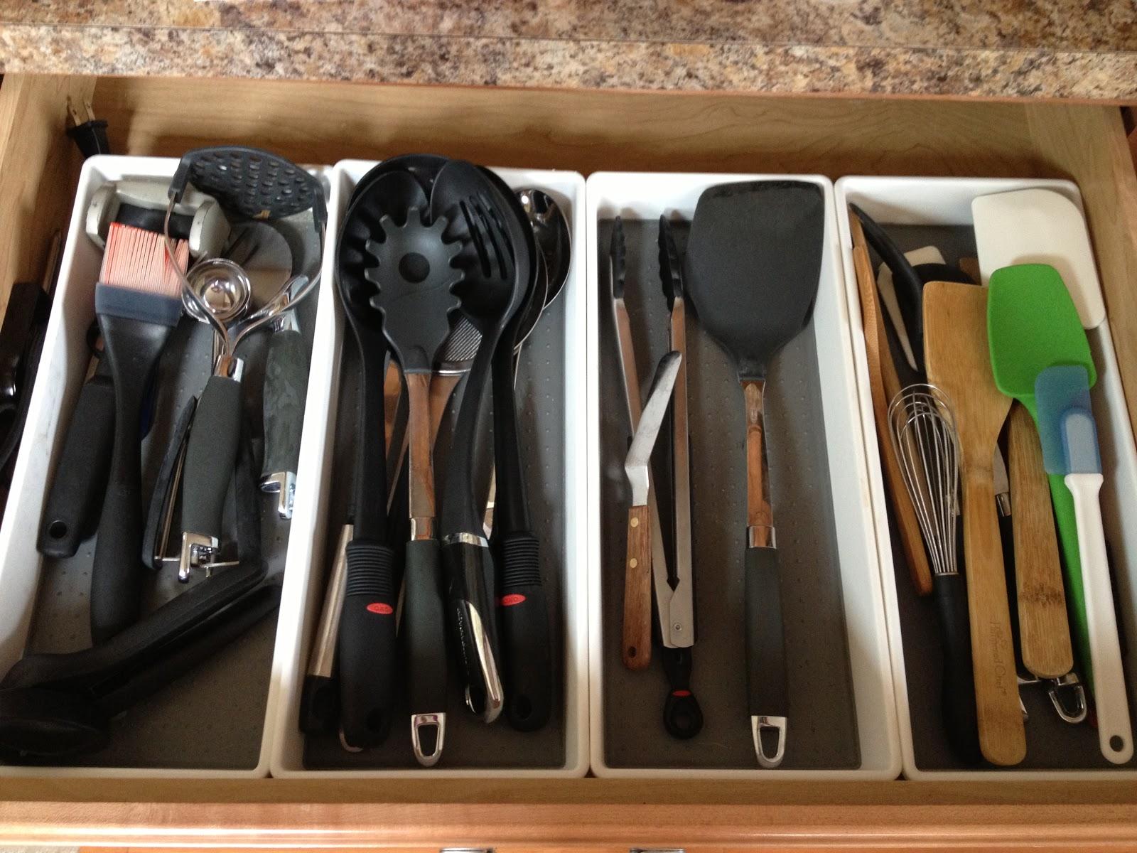 ocdelightful kitchen utensil and gadget organization kitchen utensil and gadget organization