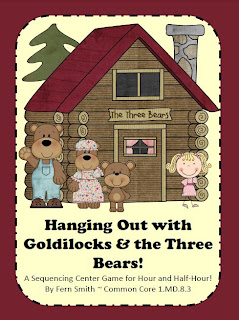 Hanging Out with Goldilocks & the Three Bears Center Game