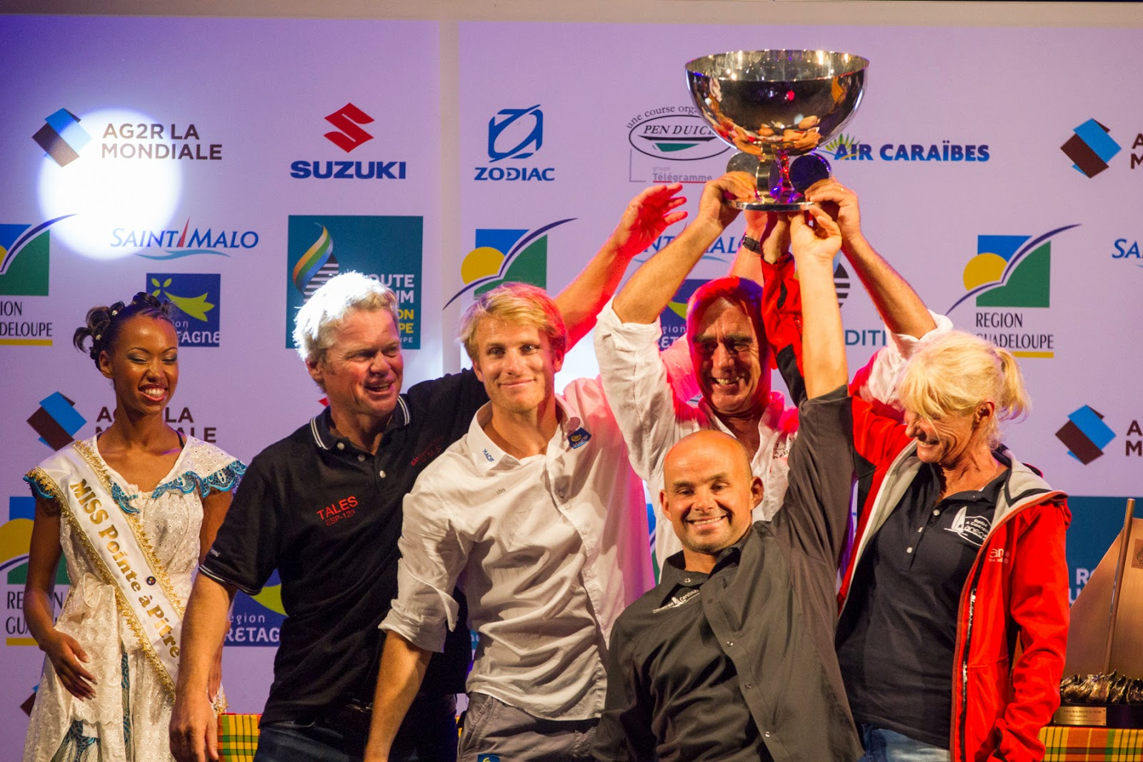 Bravo aux vainqueurs de la Route du Rhum 2014 !!