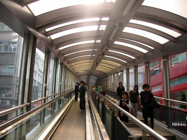 Inside Mid-Levels Escalator