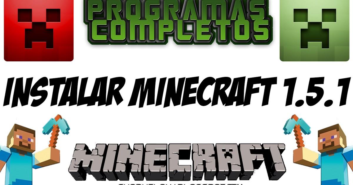 descargar minecraft 1.5 2 para pc windows 7