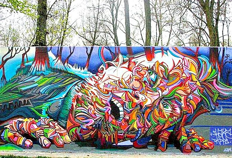 3d street art photo gallery